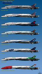 N 4300-350 Archangel - International Airliner 3 by haryopanji