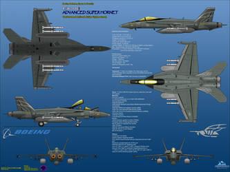 Boeing FA-18I Advanced Super Hornet - Strike Ops by haryopanji