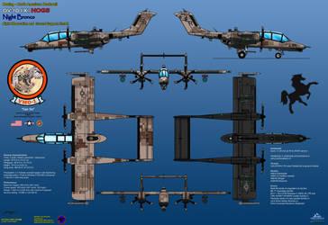 OV-10X NOGS Version - USMC by haryopanji