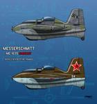 Messerschmitt Me-163S Habicht