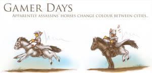 Gamer Days - AC: Colour Horses