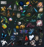 HxR Item Dump by 13blackdragons