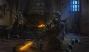 Commission: Blacksmith