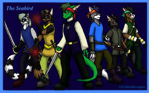 The Seabird crew by 13blackdragons
