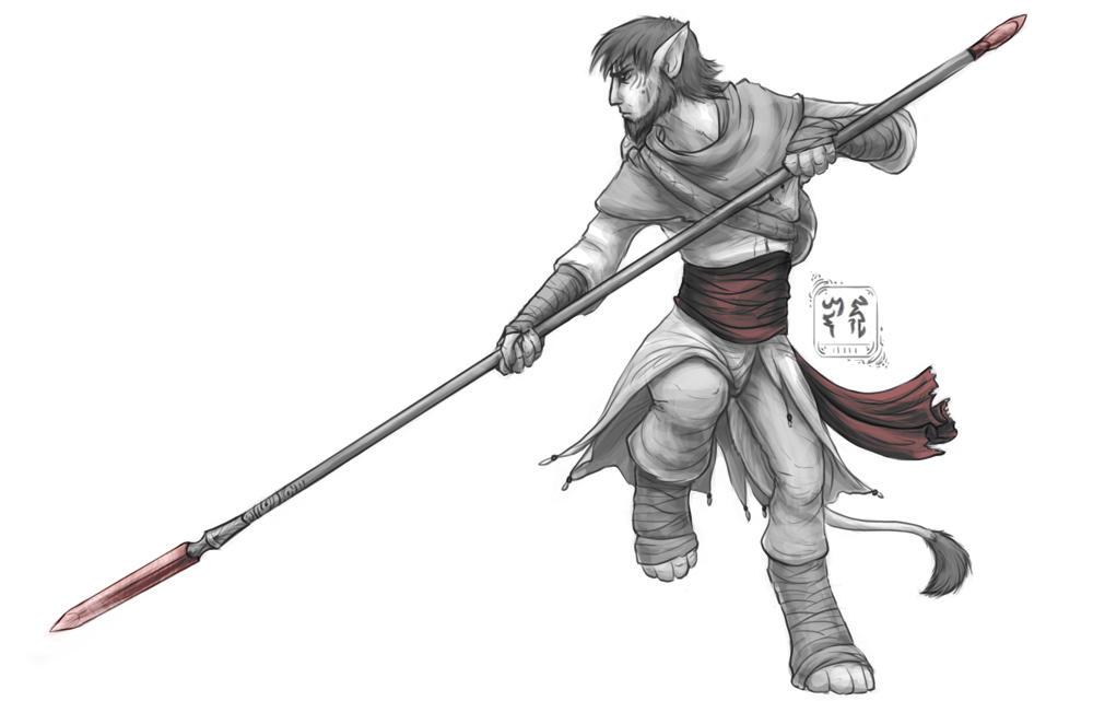 GraySketch: Imfah, the Nameless