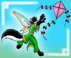 Gimmy chace kite by 13blackdragons