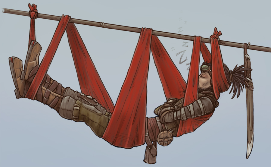 Borderlands - Scarfket Use #3: Hammock by 13blackdragons