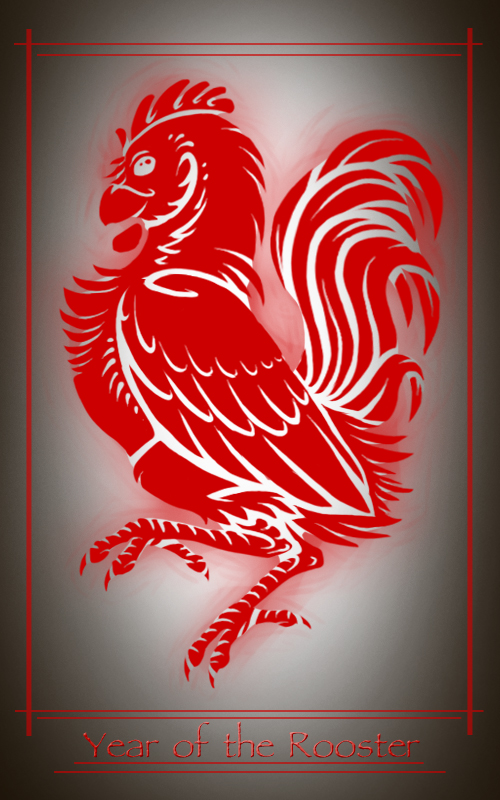 - Year of the Rooster - by 13blackdragons