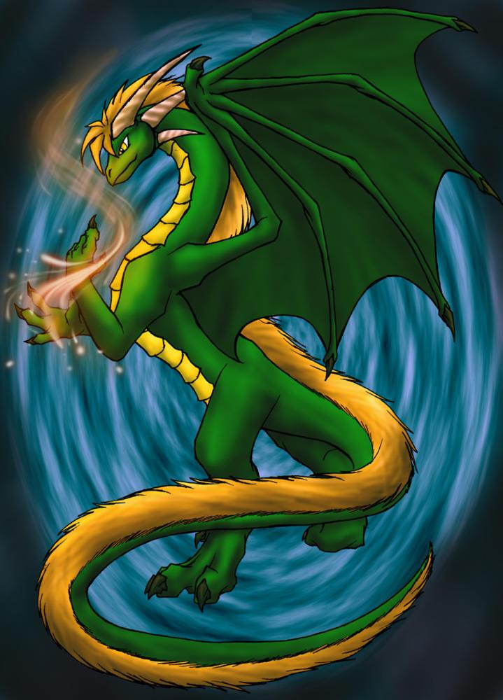 Wall pic 1- Dragon