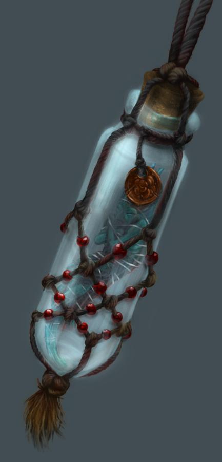 DnD - Bottled Dead Sprite Trinket