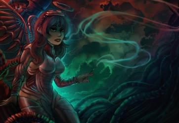 CyberAngel by Pheoniic