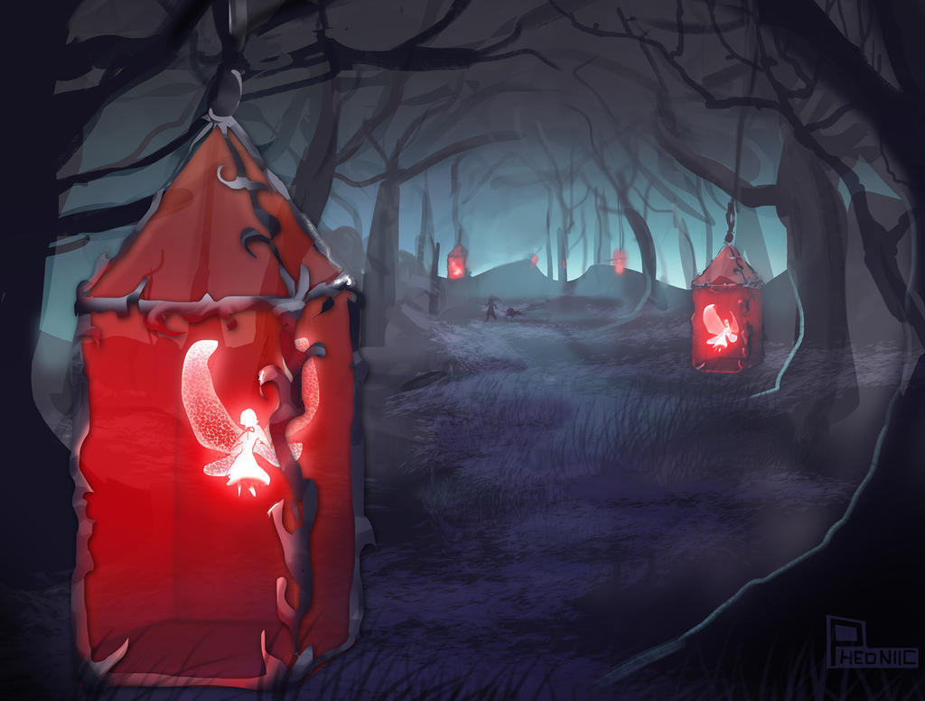 Red Lanterns Spitpaint by Pheoniic