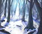 White Forest Spitpaint