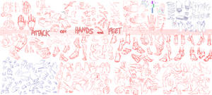 ATTACK ON HANDS AND FEET