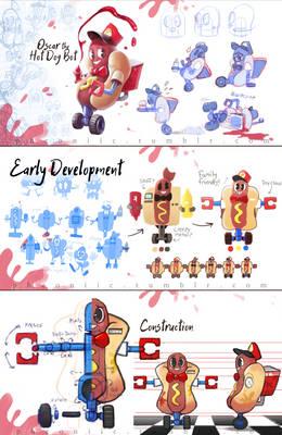 Hotdog Concept Art!