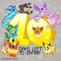 10 Days Left to Enter!