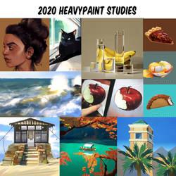 2020 HeavyPaint Studies