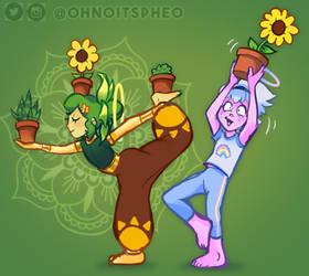 Plant Yoga w/ Mr. Ibs