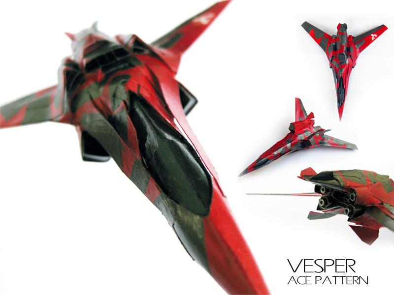 VESPER ace pattern by PaperBot