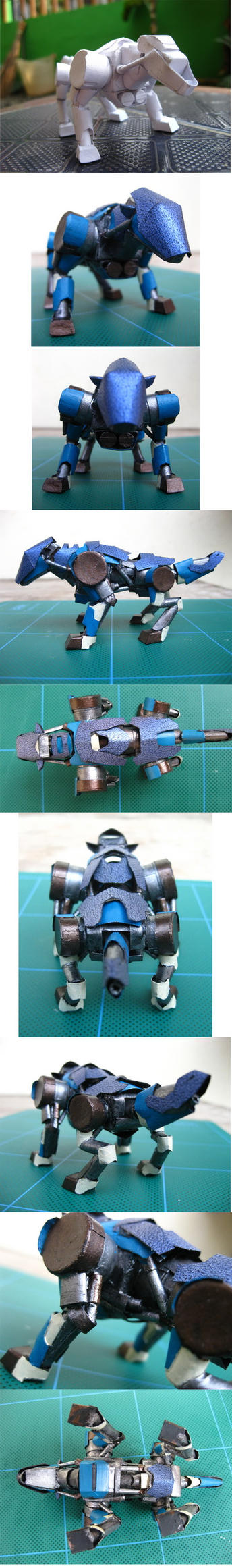 Mini Zoids Detail by PaperBot