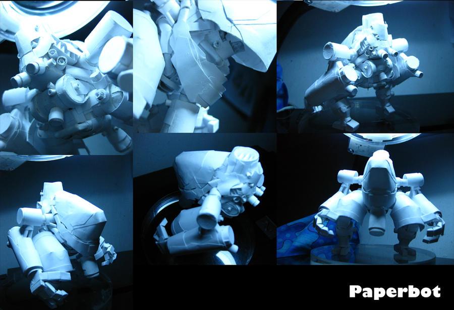 Exomech Machina white by PaperBot