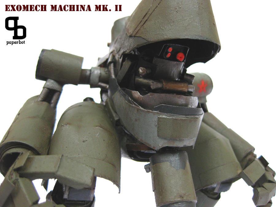 Exomech Machina inside by PaperBot