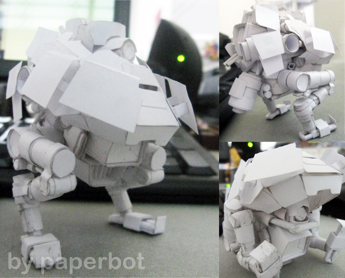 WIP Warpig full body + leg by PaperBot