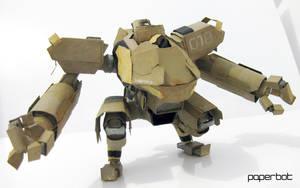 Exomech Machina Warpig by PaperBot