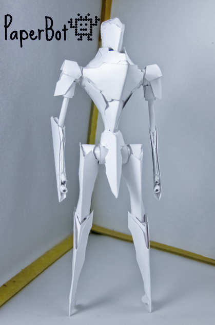 Saber Runner front by PaperBot