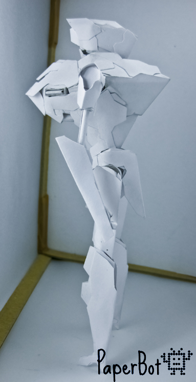 Saber Runner side by PaperBot