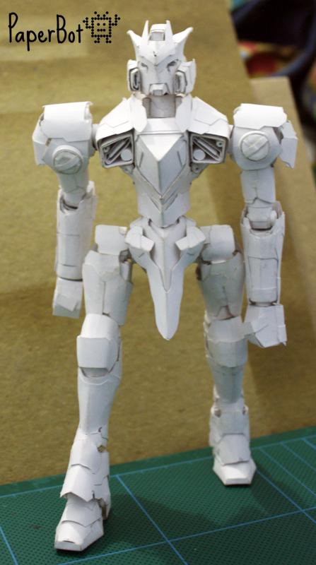 Ninja Gundam by PaperBot