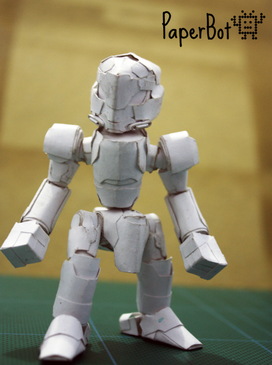 Basic 1 model front by PaperBot