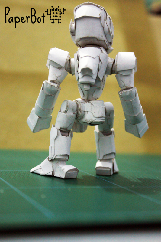 Basic 1 model back by PaperBot