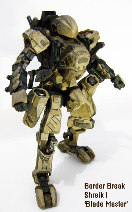Blade Master Shreik I by PaperBot