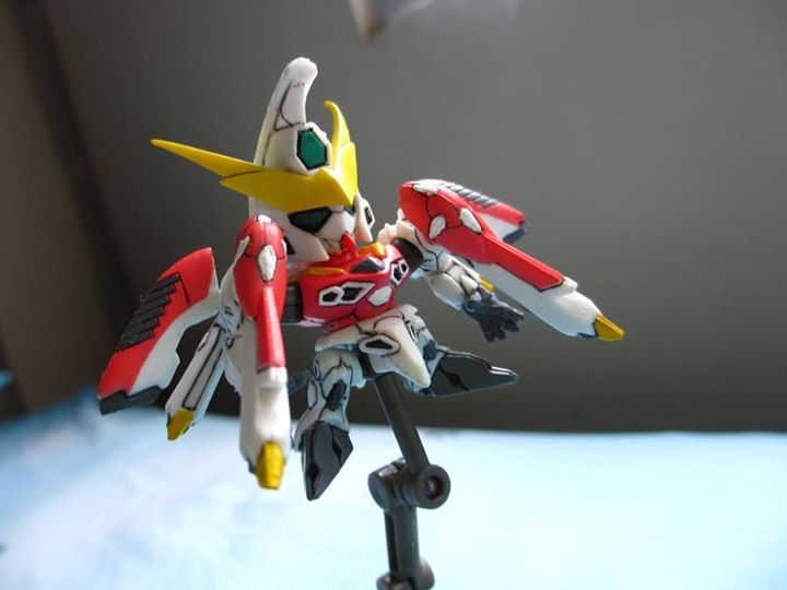 Phoenix Gundam Gashapon Next by PaperBot