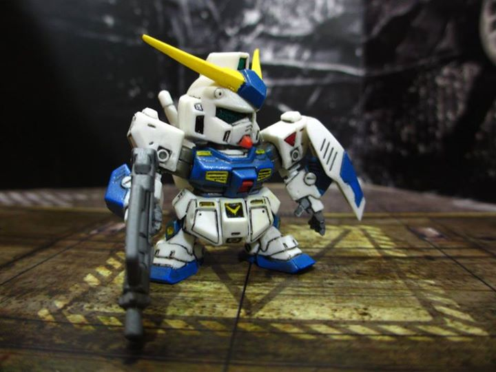 RX78NT1 Alex Gundam Gashapon Next by PaperBot