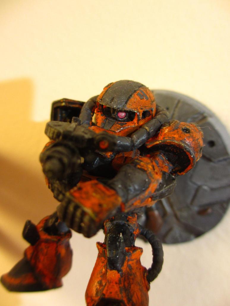 Zaku II - Space Battle 1 by PaperBot