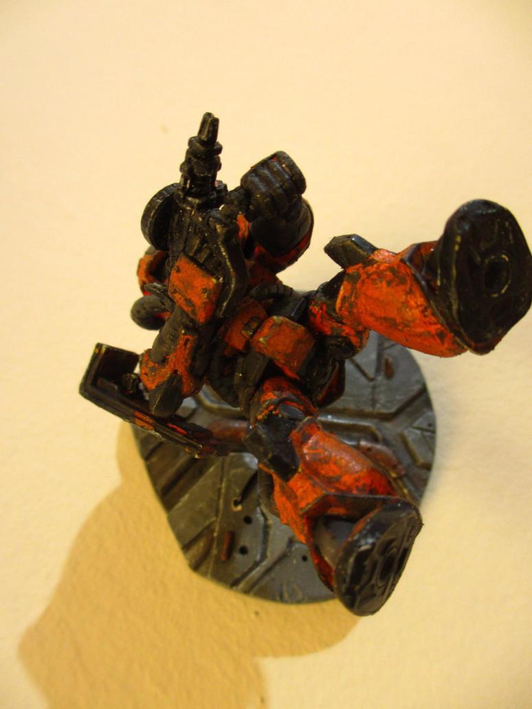 Zaku II - Space Battle 3 by PaperBot
