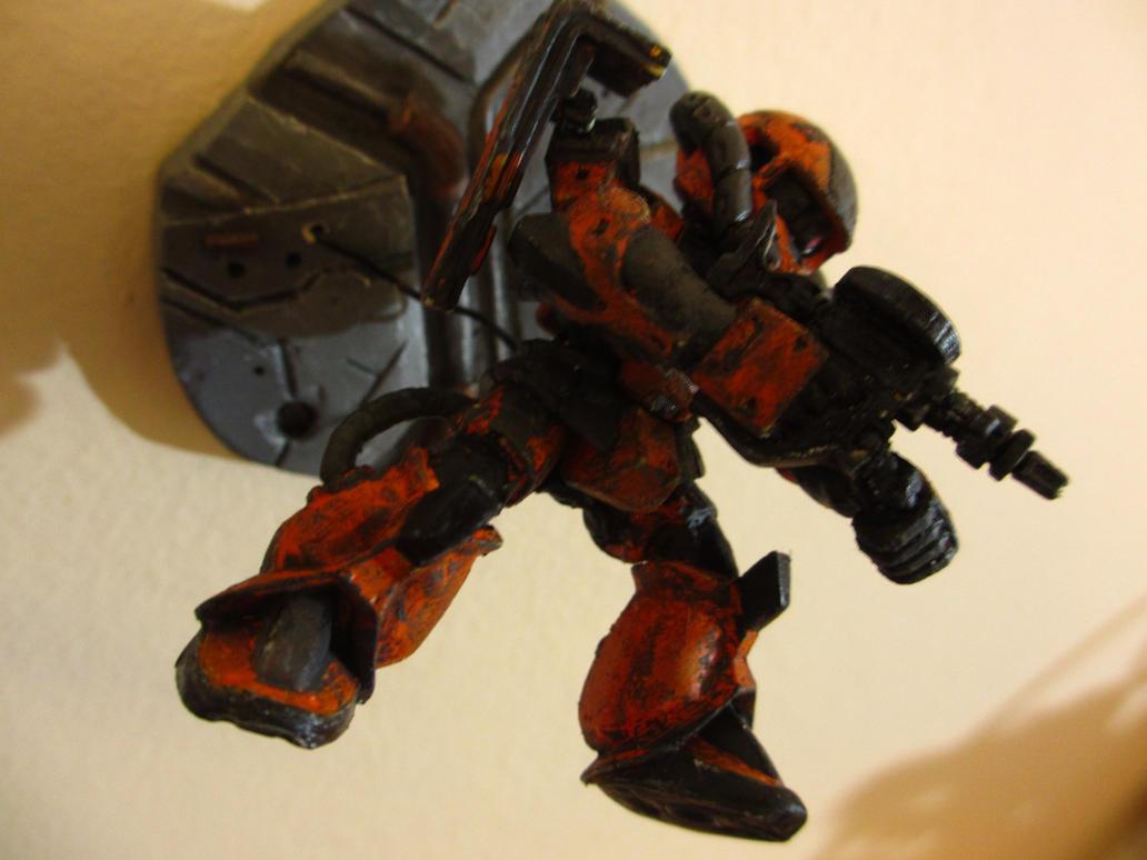 Zaku II - Space Battle 4 by PaperBot