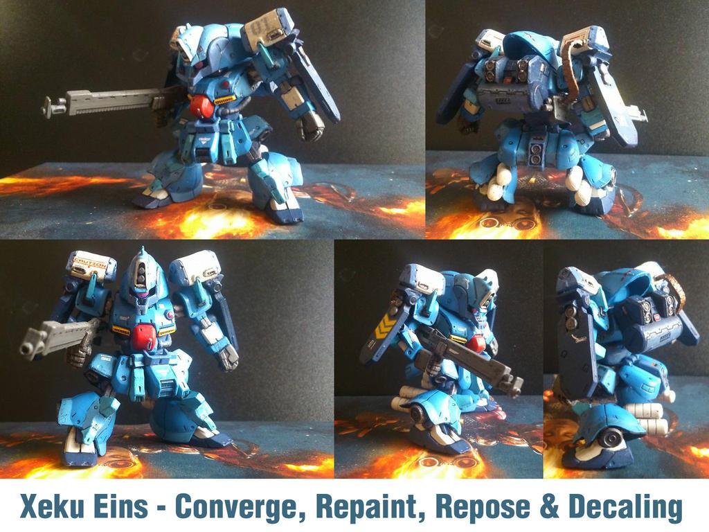 Xeku Eins Converge by PaperBot