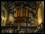 Peterhouse Organ HDR by Undercover-Superhero