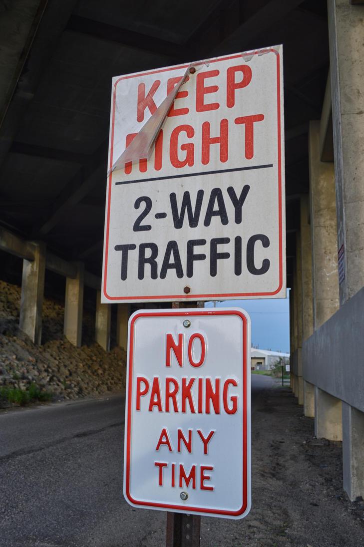 2016: Keep Right Sign by nintendobratkat