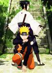 Naruto and Sasuke!!!