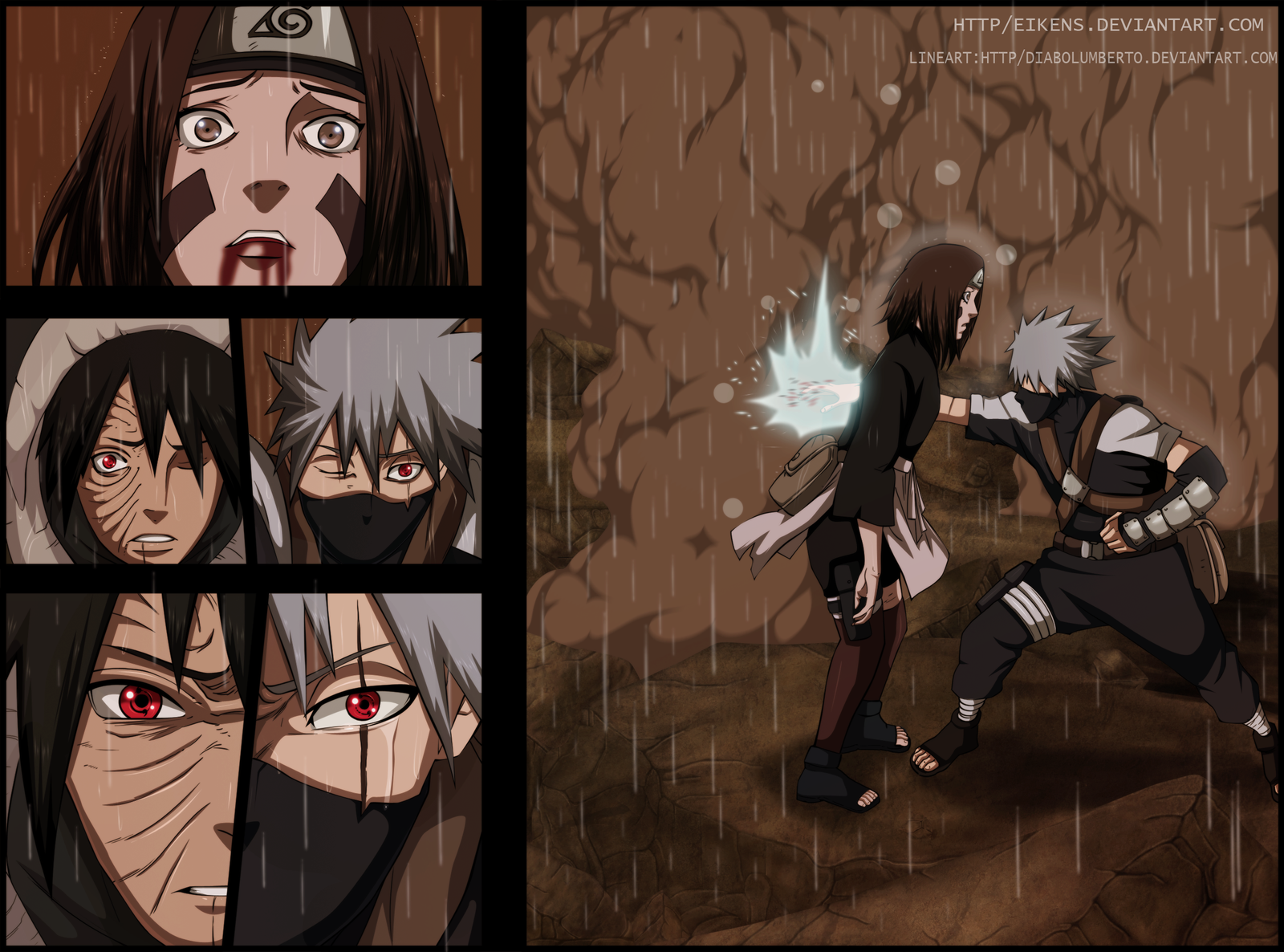 Obito and Madara - Test by DaanitMC on DeviantArt