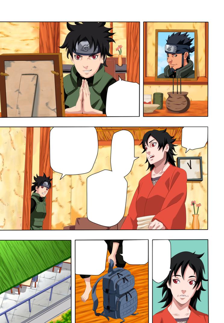 Naruto manga 700  pagina 11 color by eikens