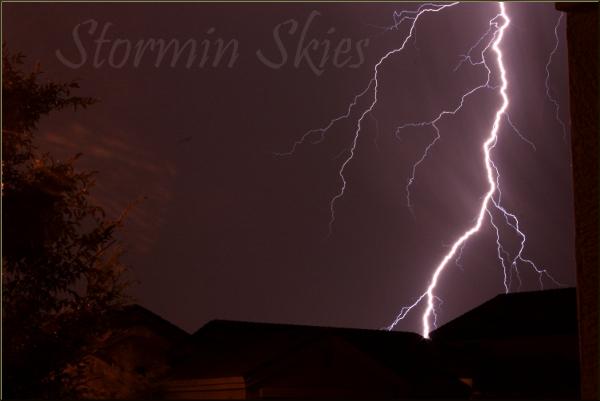 Lightning Shot 2 by StorminSkies
