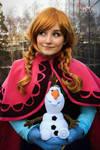 Anna Frozen Cosplay