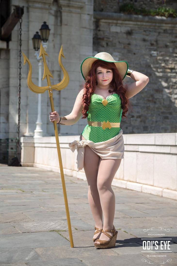 Mera bombshell cosplay by MAJCosplay