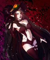 Secret Halloween Jill by FoXPrimeRose