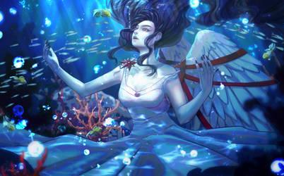 Commission sea depth by FoXPrimeRose